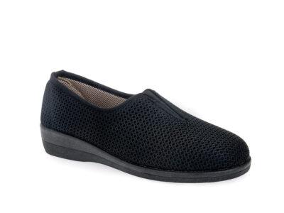 Γυναικεία υφασμάτινα καλοκαιρινά παπούτσια ΥΦΑΝΤΙΔΗΣ 11817 BLACK