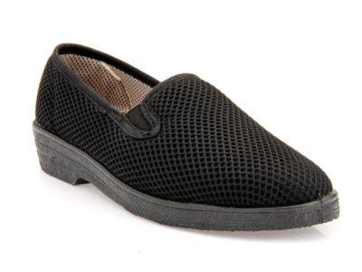 Γυναικεία υφασμάτινα καλοκαιρινά παπούτσια ΥΦΑΝΤΙΔΗΣ 2406 BLACK