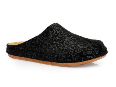 Γυναικείες ανατομικές χειμερινές παντόφλες MIGATO ARC 57 BLACK