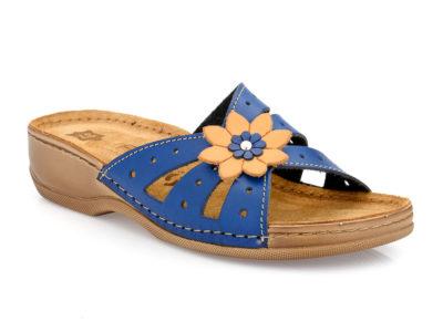 Γυναικείες ανατομικές παντόφλες FILD MILENA-405 BLUE