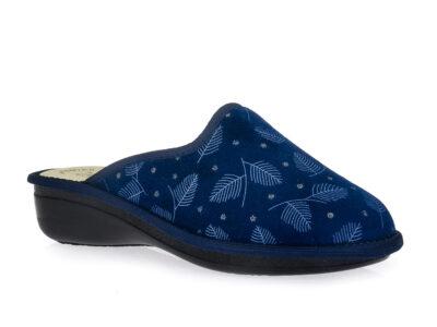 Γυναικείες χειμερινές ανατομικές παντόφλες ZARKADI ORIANA 924 BLUE