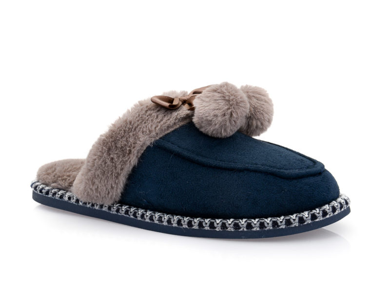 Γυναικείες χειμερινές παντόφλες B-SOFT 18006 BLUE