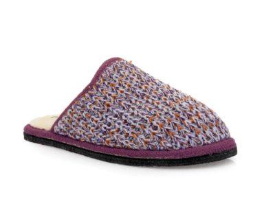Γυναικείες χειμερινές παντόφλες COMFY 4100-2 LILA