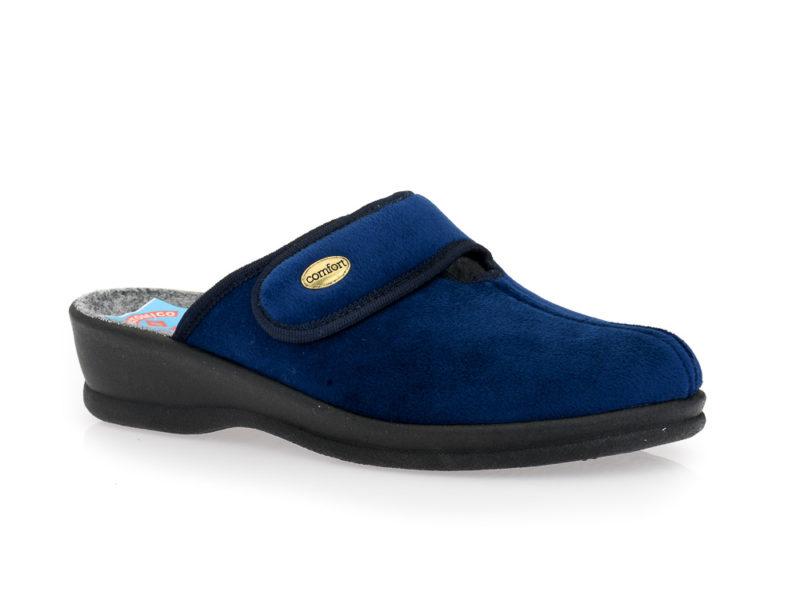 Γυναικείες χειμερινές παντόφλες FAME LS 419609 BLUE