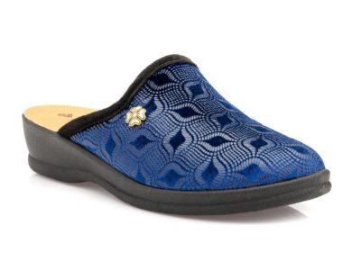 Γυναικείες χειμερινές παντόφλες FAME LS 4318012 BLUE