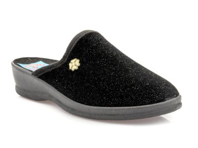 Γυναικείες χειμερινές παντόφλες FAME LS 4318015 BLACK