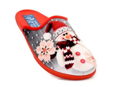 Γυναικείες χειμερινές παντόφλες FILD SPORTIVX-S 16 RED