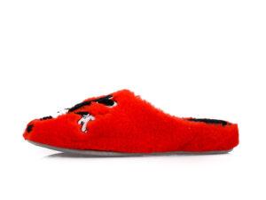 Γυναικείες χειμερινές παντόφλες MINNIE PAREX 10122130 RED
