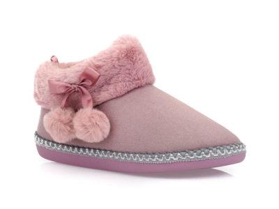 Γυναικείες χειμερινές παντόφλες μποτάκια B-SOFT 18004 FUCHSIA