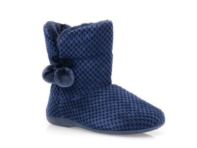 Γυναικείες χειμερινές παντόφλες μποτάκια SABINO TM 005C-2049. BLUE