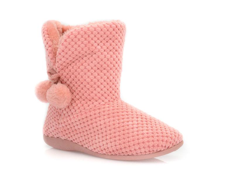Γυναικείες χειμερινές παντόφλες μποτάκια SABINO TM 005C-2049. PINK