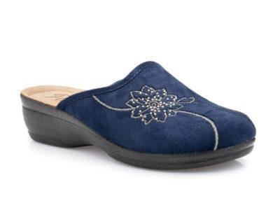 Γυναικείες χειμερινές παντόφλες PAREX 10118006 BLUE