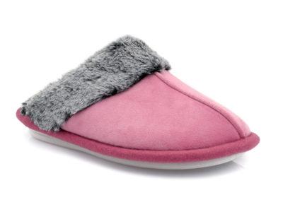 Γυναικείες χειμερινές παντόφλες PAREX 10118058 FUCHSIA