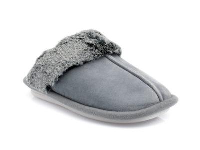 Γυναικείες χειμερινές παντόφλες PAREX 10118058 GREY