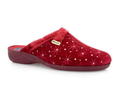 Γυναικείες χειμερινές παντόφλες SABINO 1015 RED