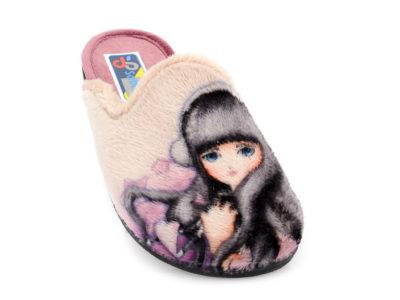 Γυναικείες χειμερινές παντόφλες SABINO 16124. 770 BEIGE