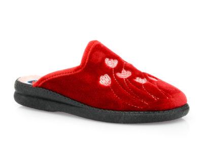 Γυναικείες χειμερινές παντόφλες SABINO L 19-4624 BORDEAUX