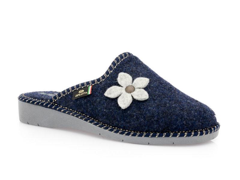 Γυναικείες χειμερινές παντόφλες SPESITA 334 BLUE