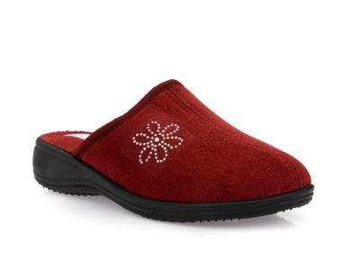 Γυναικείες χειμερινές παντόφλες SPESITA 581 BORDEAU