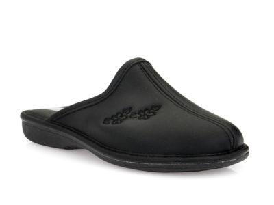 Γυναικείες χειμερινές παντόφλες SPESITA 593/R BLACK