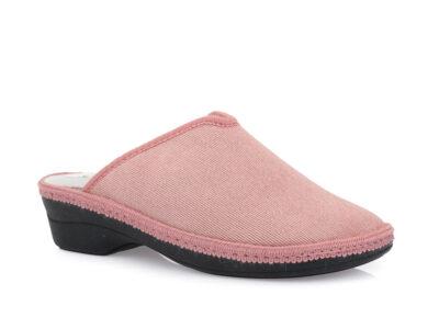 Γυναικείες χειμερινές υφασμάτινες παντόφλες COMFY 06L-00 PINK