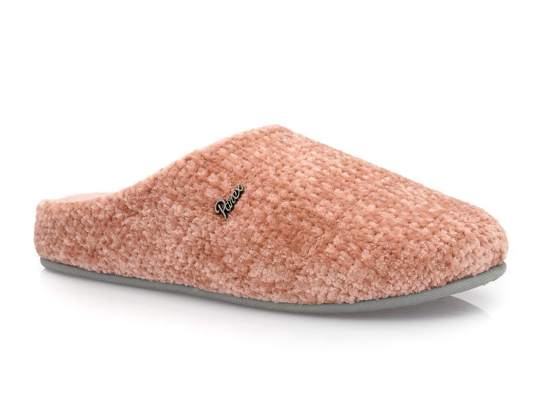 Γυναικείες χειμερινές υφασμάτινες παντόφλες PAREX 10118168 PINK
