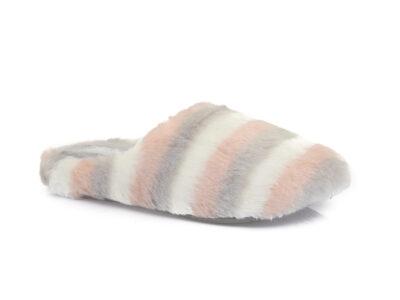 Γυναικείες χειμερινές υφασμάτινες παντόφλες PAREX 10122105 SALMON