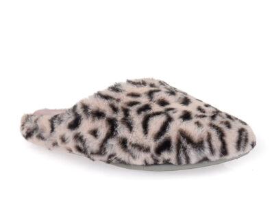 Γυναικείες χειμερινές υφασμάτινες παντόφλες PAREX 10124012 PINK
