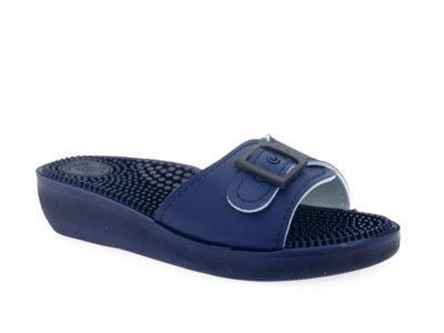 Γυναικείες καλοκαιρινές ανατομικές παντόφλες FIN-FLEX 18 BLUE