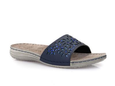 Γυναικείες καλοκαιρινές ανατομικές παντόφλες TIGLIO 4308 BLUE