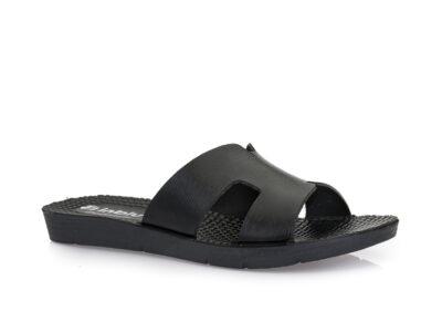 Γυναικείες καλοκαιρινές παντόφλες INBLU ME 23 BLACK