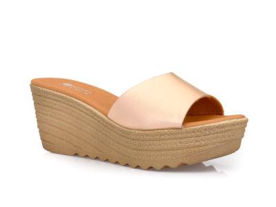 Γυναικείες καλοκαιρινές παντόφλες πλατφόρμες BLONDIE SIR 15701 COOPER
