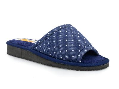 Γυναικείες καλοκαιρινές παντόφλες σπιτιού KOLOVOS 22 BLUE