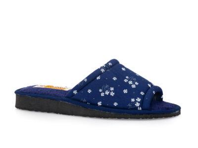 Γυναικείες καλοκαιρινές παντόφλες σπιτιού KOLOVOS 68 BLUE