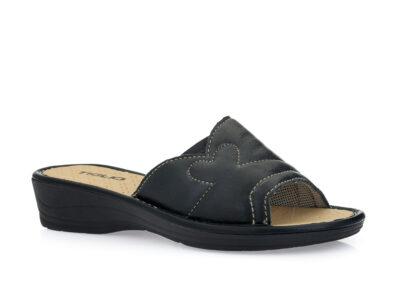 Γυναικείες καλοκαιρινές παντόφλες TIGLIO 1623 BLACK