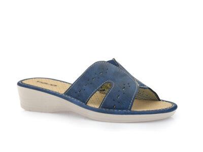 Γυναικείες καλοκαιρινές παντόφλες TIGLIO 1627 BLUE