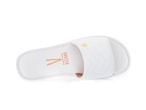 Γυναικείες παντόφλες flat VIZZANO 6363.129 WHITE