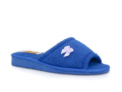 Γυναικείες πετσετέ παντόφλες σπιτιού KOLOVOS 03 BLUE