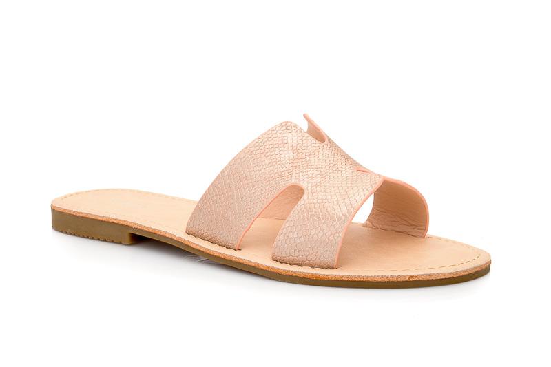 Γυναικείες καλοκαιρινές παντόφλες εξόδου MIGATO BS 36. PINK