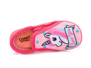 Κοριτσίστικα ανατομικά παντοφλάκια COMFY 8702 GRAFF PINK