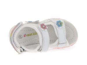 Κοριτσίστικα ανατομικά πεδιλάκια SMART KIDS 12/170 WHITE
