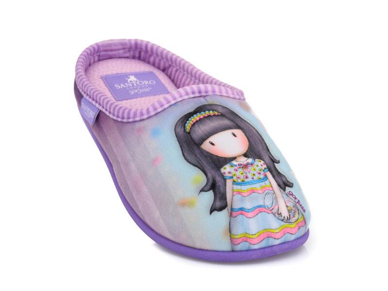 Κοριτσίστικα χειμερινά παντοφλάκια SANTORO SA 93607 C