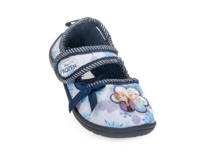 Κοριτσίστικα κλειστά χειμερινά παντοφλάκια FROZEN DISNEY D 4310205 T BLUE