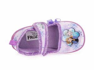 Κοριτσίστικα κλειστά χειμερινά παντοφλάκια FROZEN DISNEY D 4310205 T LILAC