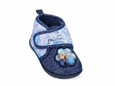 Κοριτσίστικα κλειστά χειμερινά παντοφλάκια FROZEN DISNEY D 4310212 T BLUE