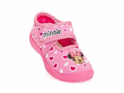 Κοριτσίστικα κλειστά χειμερινά παντοφλάκια MINNIE DISNEY D 3010177 T PINK