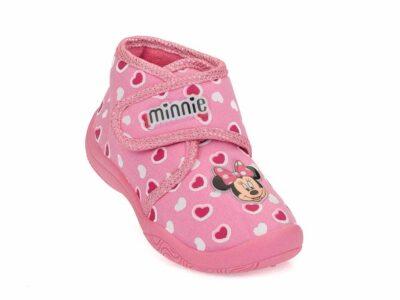 Κοριτσίστικα κλειστά χειμερινά παντοφλάκια MINNIE DISNEY D 3010221 T PINK