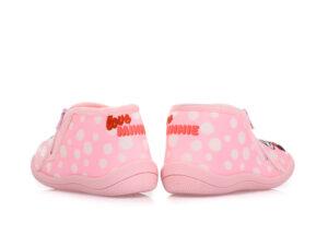 Κοριτσίστικα κλειστά χειμερινά παντοφλάκια MINNIE PAREX 10122141 PINK