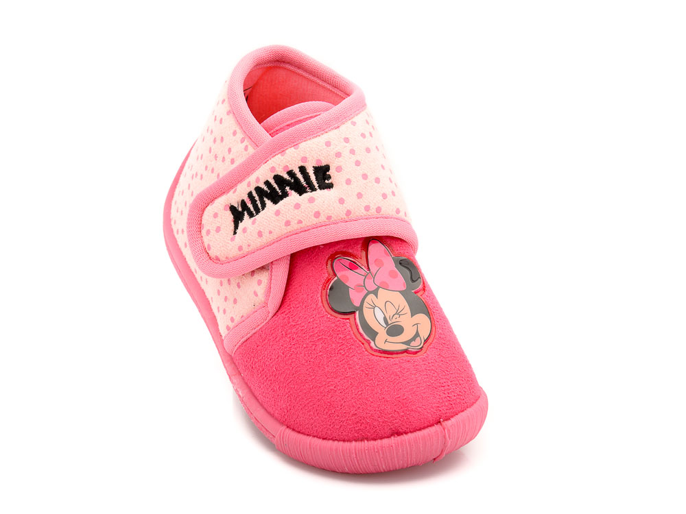 Κοριτσίστικο κλειστό παντοφλάκι Minnie DISNEY DM 003633 FUCHSIA ... c4b82291acd